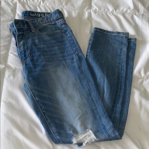 Gap high rise skinny jeans. Size 25 💕
